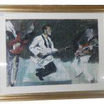 Chuck Berry by D R Adamson