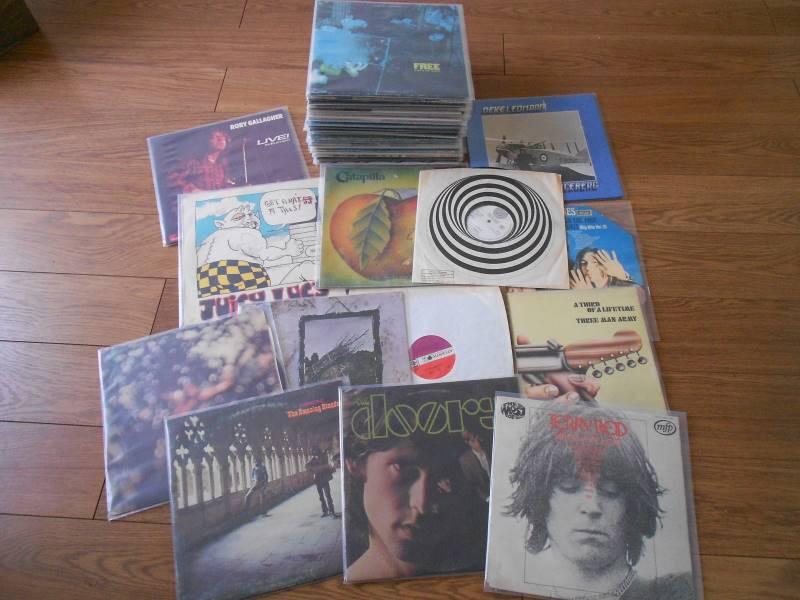 Progressive Rock LP's Amazing Blondle. Doors, Pink Floyd, Led Zeppelin, Rolling Stones Catapilla Vertigo Swirl Neil Young, Free, Rory Gallagher etc