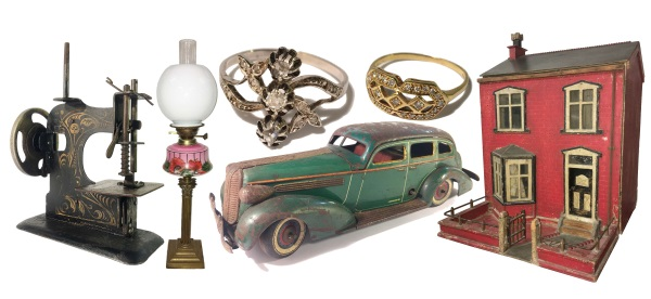 antiques collage