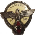1938 Hitler Youth Gausieger Badge