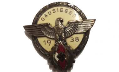 More Medals and Badges including 1938 Hitler Youth Gausieger Badge