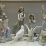 Collection of Lladro figurines