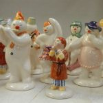 Collection of Snowman figurines
