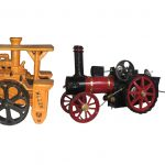 Collection of Die-Cast Tractors, Engines and more