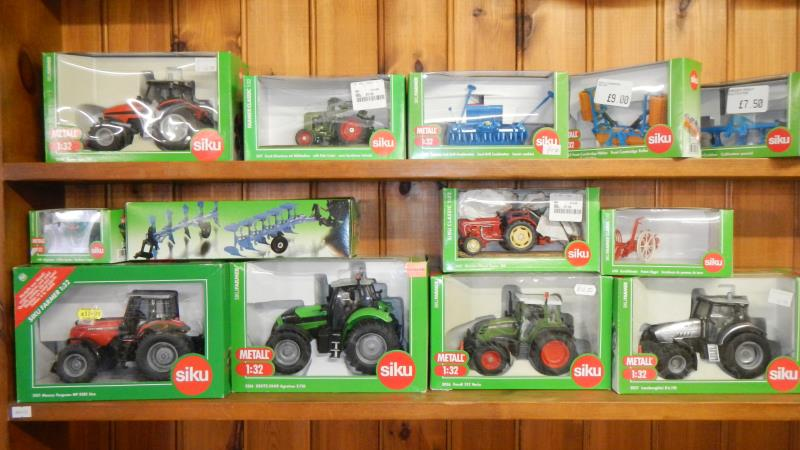 Collection of Die-Cast Tractors