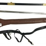 Naval Officer's dress sword formerly belonging to Surg. Capt. F. P. Ellis, CBE., FRCP., RN, RTD