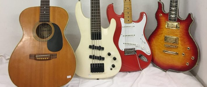 Guitars including rare Hofner and Fender Stratocaster at Unique Auctions