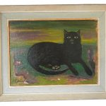 Mary Fedden (1915–2012) Black Cat