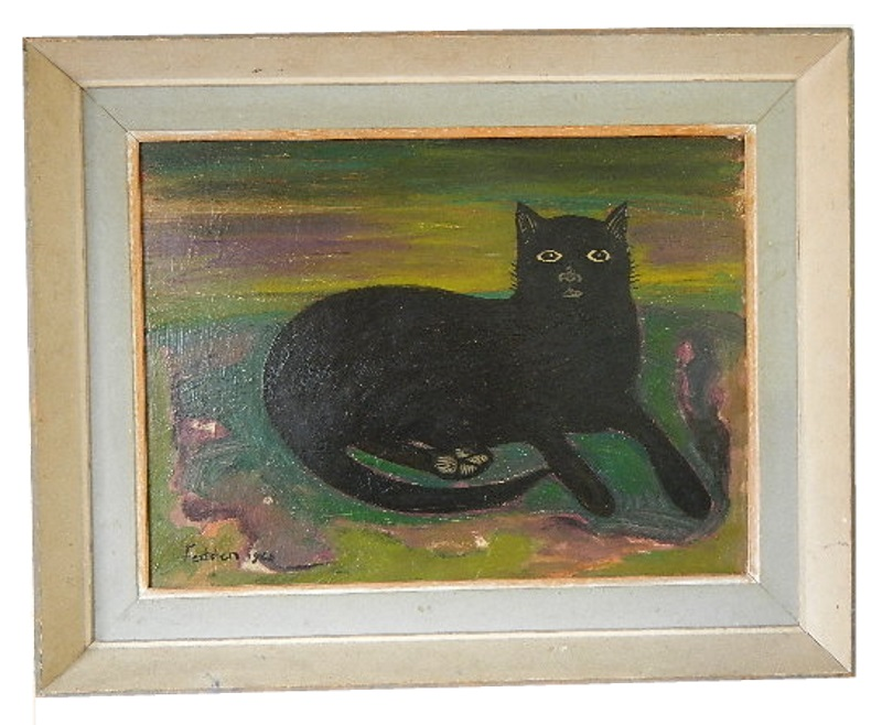 Mary Fedden Black Cat 68