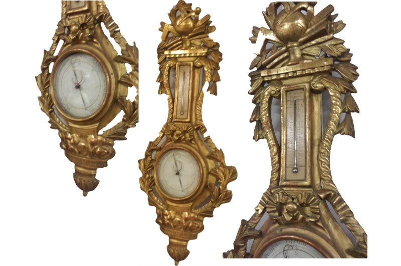 french barometer collage