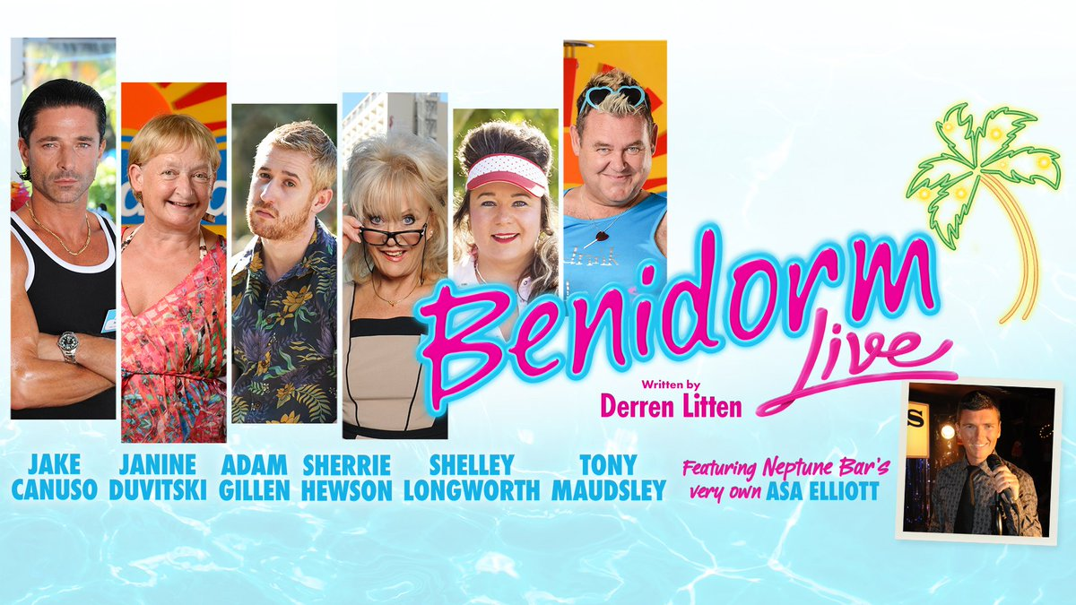 benidorm on stage