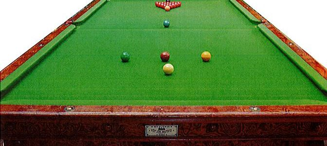 Lord Savile's Billiard Tables and Items
