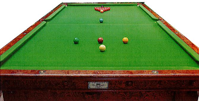 lord saville billiard table