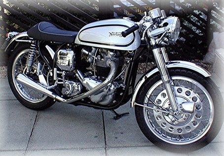 1967 Norton Atlas Cafe Racer