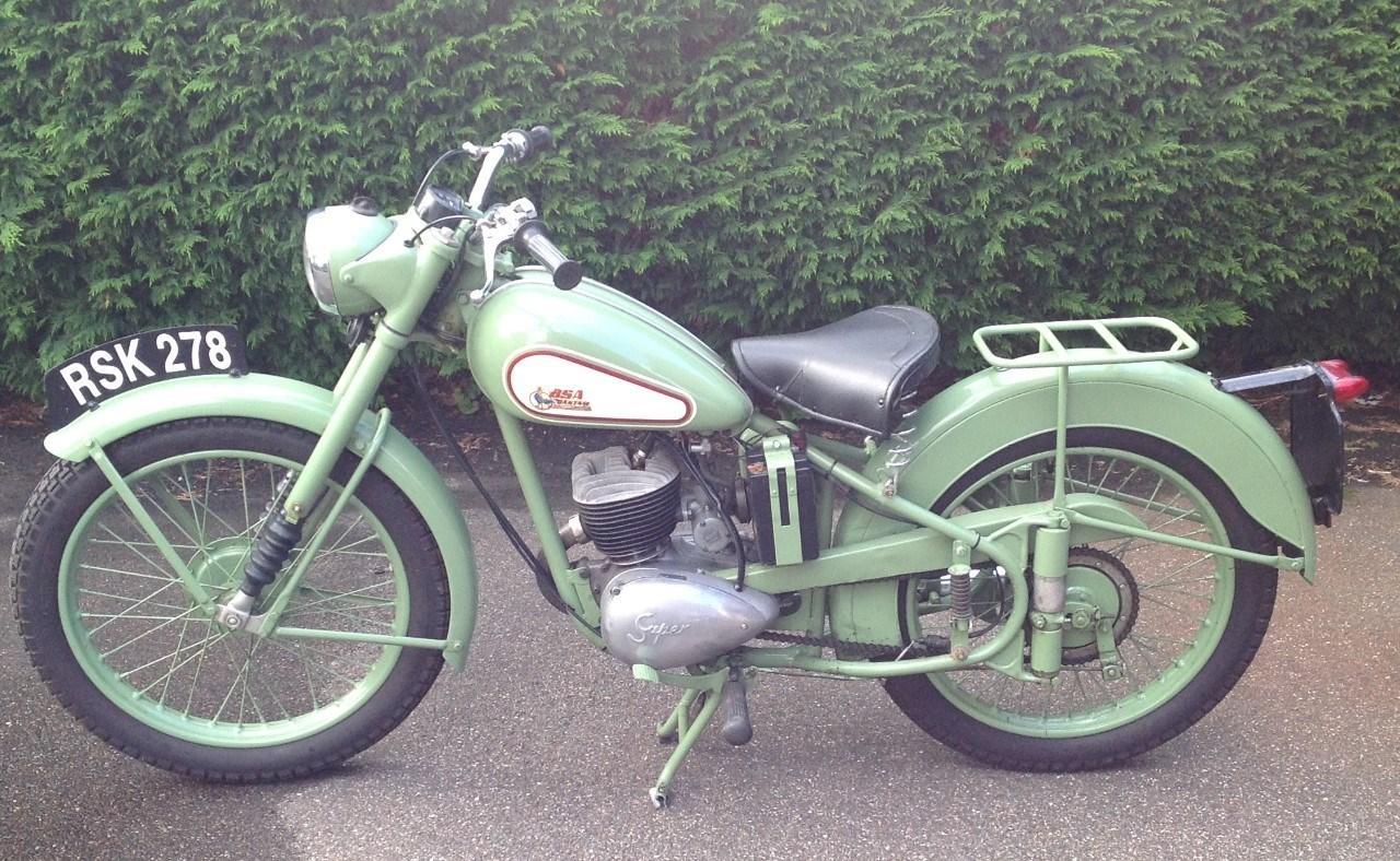 1957 BSA Bantam D3