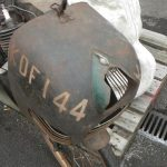 1950 Cymota 45cc Cyclemotor bicycle attachment cover right