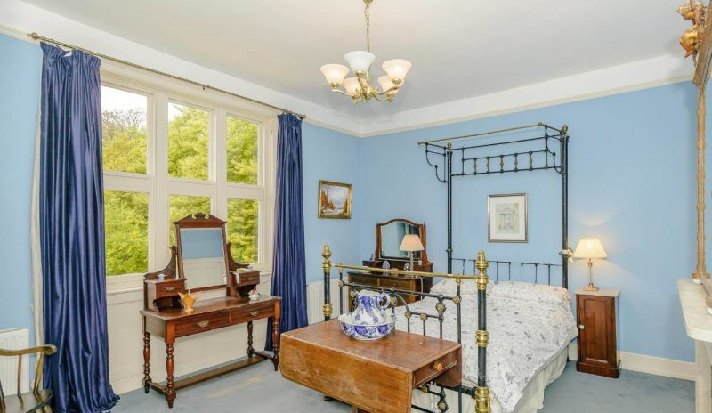 The Blue Bedroom at Battleford Hall