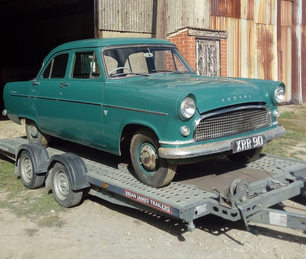 1957 MKII Ford Consul