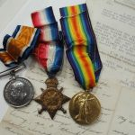wwi medals for r beck