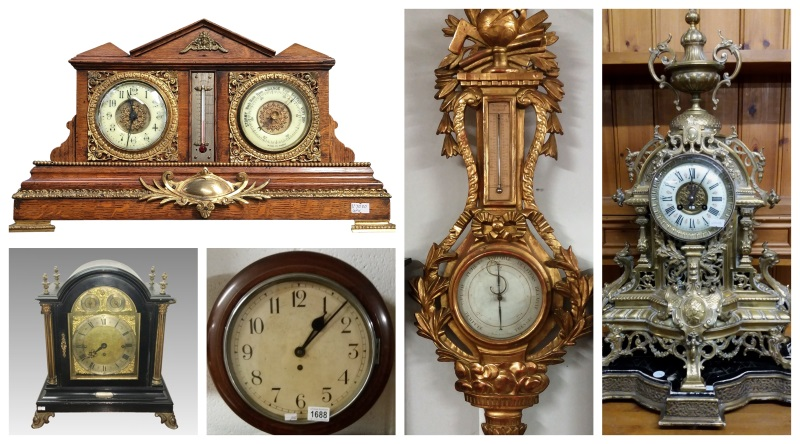 Clocks, Watches and Barometers buying and selling at auction