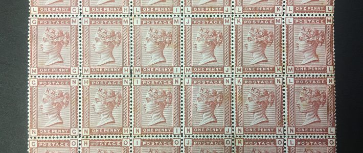 Collections of stamps