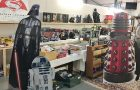 The laying out of the Toy auction Sat 8th Dec