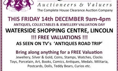 Valuation Days at Waterside Shopping Centre in December