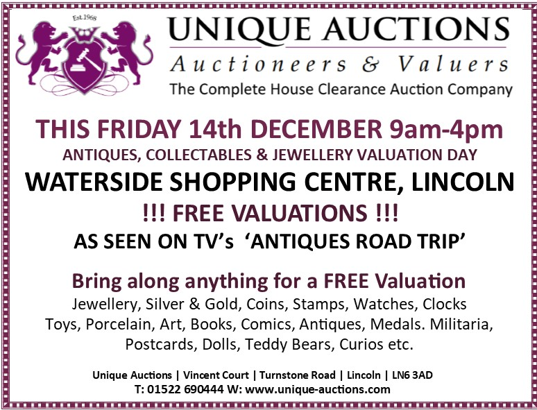 Free valuations at Lincolns Waterside Shopping Centre