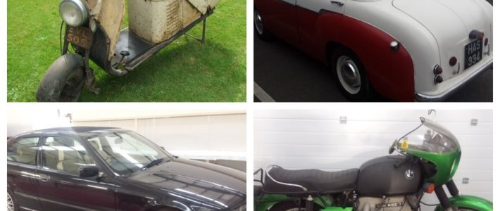 Classic Cars, Motorcycles, Mascots, Badges, & Automobilia Auction 26th January