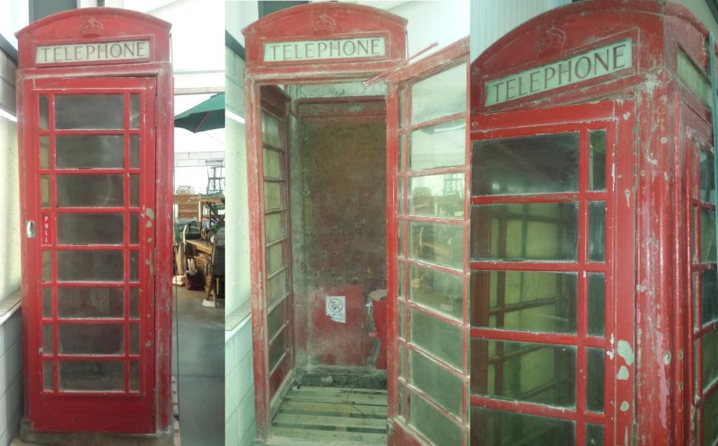 George VI K6 Red Telephone Box 1st Model