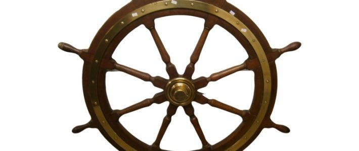 Ships Wheel from SS Egypt