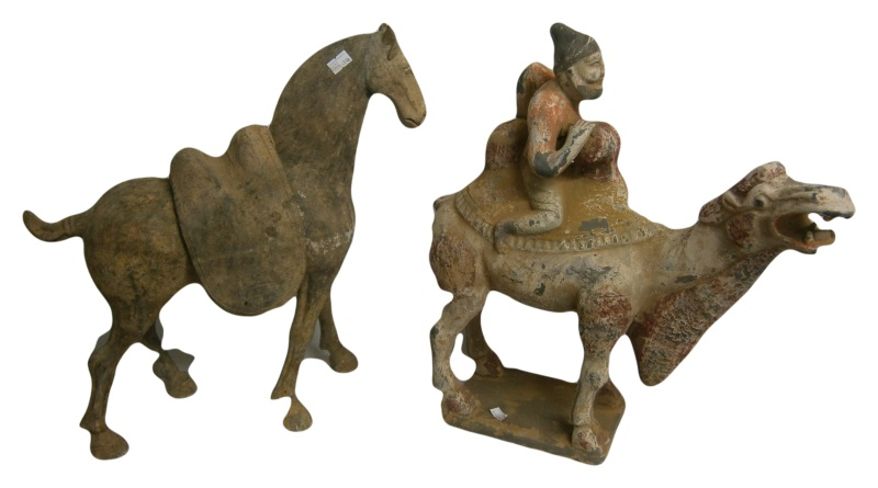 tang horse tang camel rider