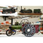 Steam Engines inc 5″ Model of 1853 Crampton Type Steam Engine
