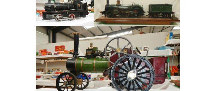 Steam Engines inc 5″ Model of 1853 Crampton Type Steam Engine