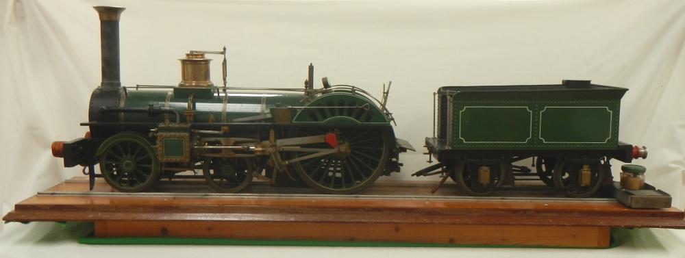crampton type steam engine