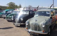 cars including Morris Minor