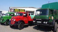 Bedford trucks on display