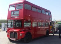 red london bus at Lincolnshire Road Transport Museum