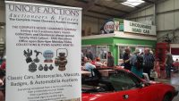 unique auctions at Lincolnshire Road Transport Museum
