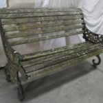 VICTORIAN CAST IRON GARDEN BENCH POSSIBLY COALBOOKDALE