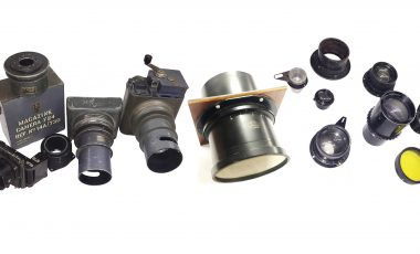 Air Ministry cameras and lenses in Sunday 23rd June Auction