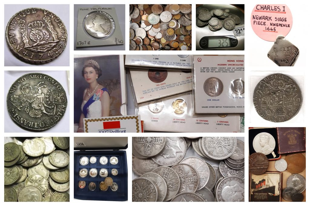 A Large Collection of Coins Coming to Auction on Sunday 28th July 2019