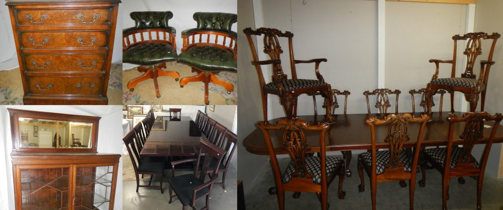 Furniture at auction