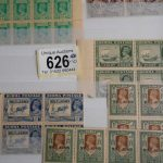 stamp collection at auction