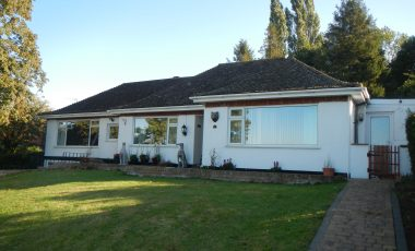 Large Detached Bungalow in High Street Waddington up for auction in October