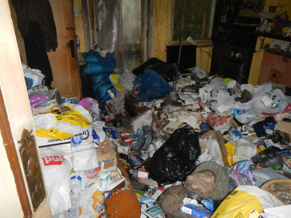 Hoarders house clearances example of hoaders house clearance