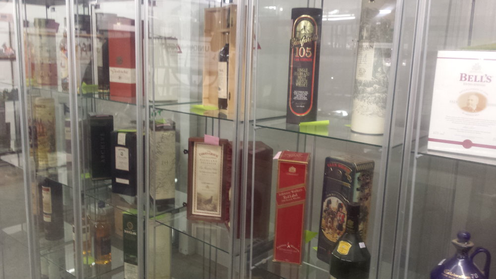 whisky collection for auction