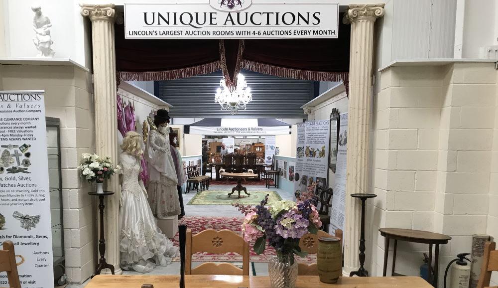 unique auctions new auction rooms