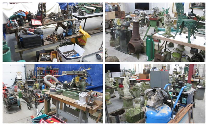 Machinery, Tools, Architectural and Garden auction Saturday 25th January 9am