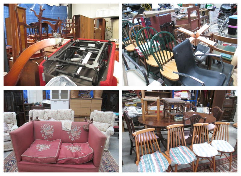 furniture clearance collage